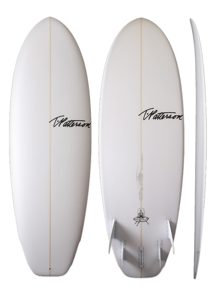 Flying Saucer surfboard model picture