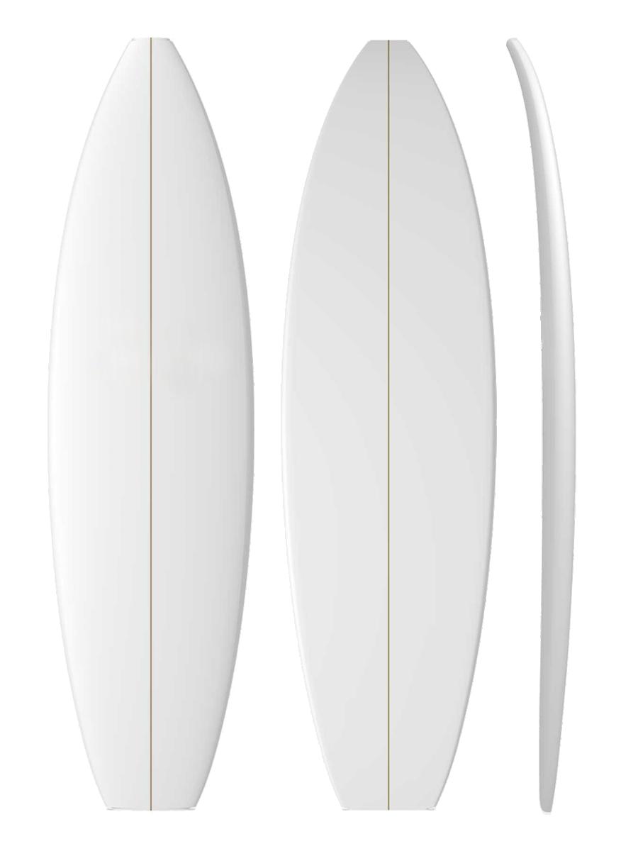 CUSTOM surfboard model picture