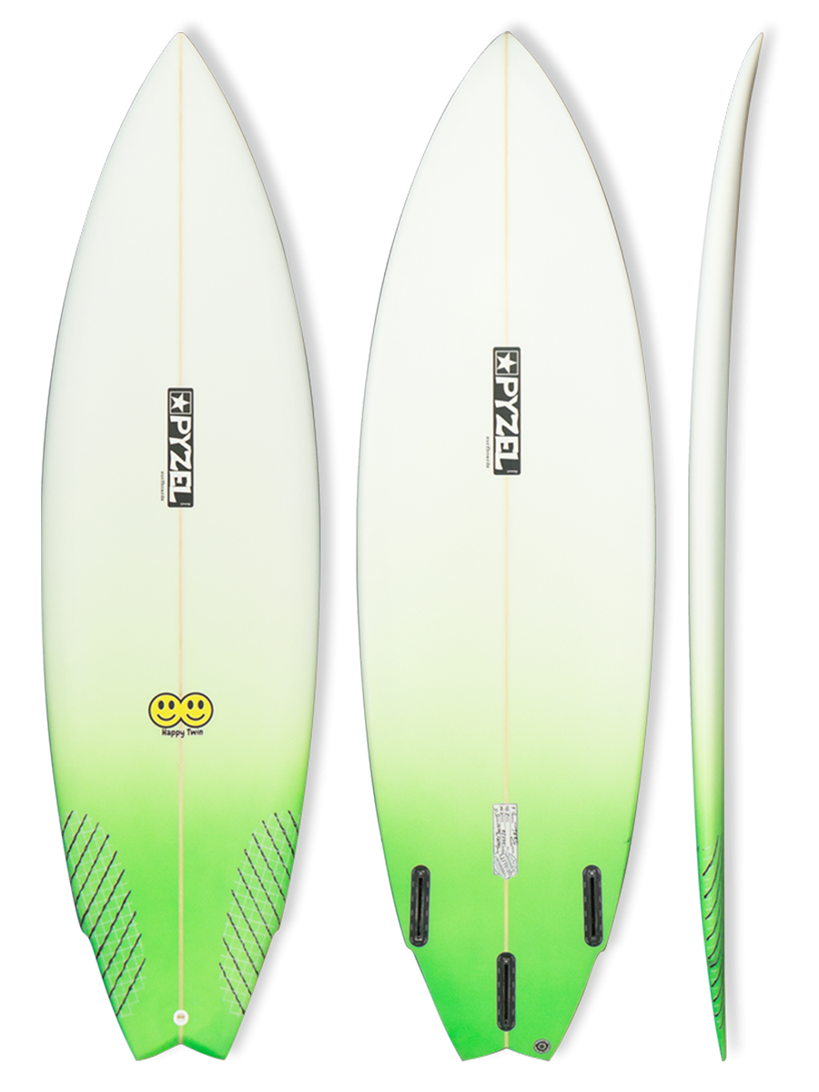 Happy Twin surfboard model picture