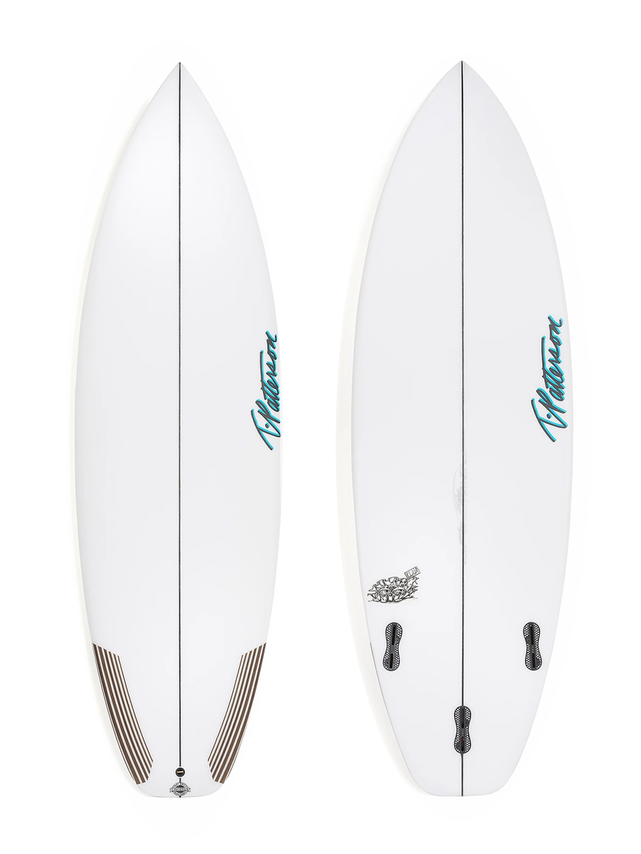 THE CLAM surfboard model picture