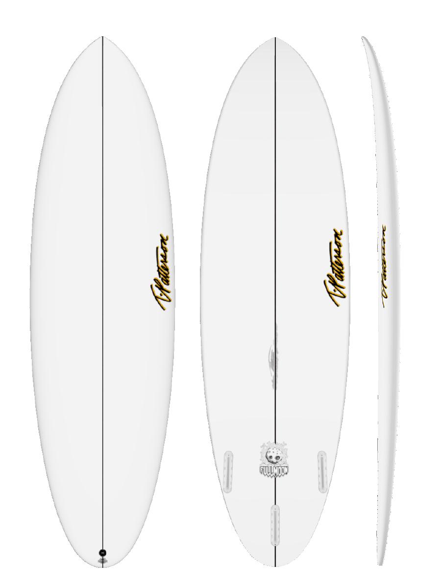 FULL MOON surfboard model picture