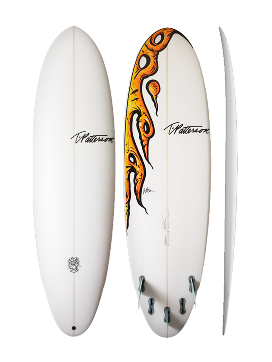 Power Pill surfboard model picture