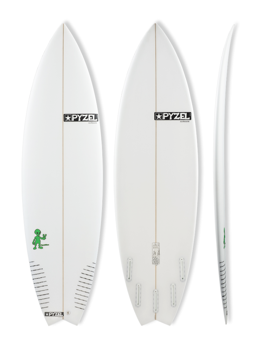 PyzAlien surfboard model picture